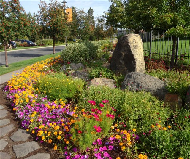 flower garden design & installation | seasonal color maintenance